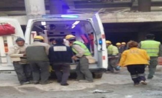Hastane İnşaatından Düşen İşçi Öldü