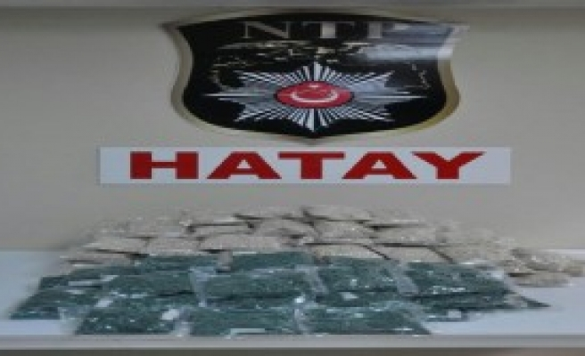 Hatay'da 240 Bin Uyuşturucu Hap Ele Geçirildi