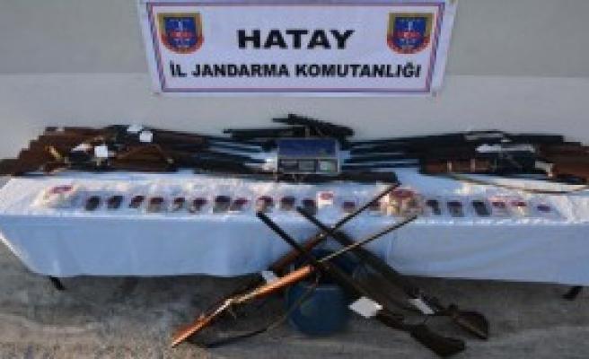 Hatay'da Operasyon: 17 Gözaltı