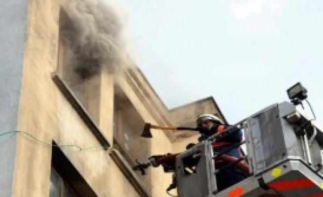 HDP Beşiktaş İlçe Binasında Yangın