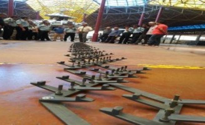 Hendek'te Polise Canlı Bomba Eğitimi