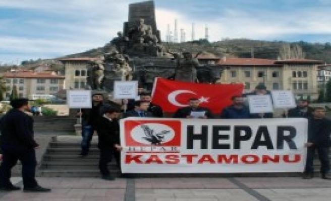Kastamonu'da Bayırbucak Protestosu