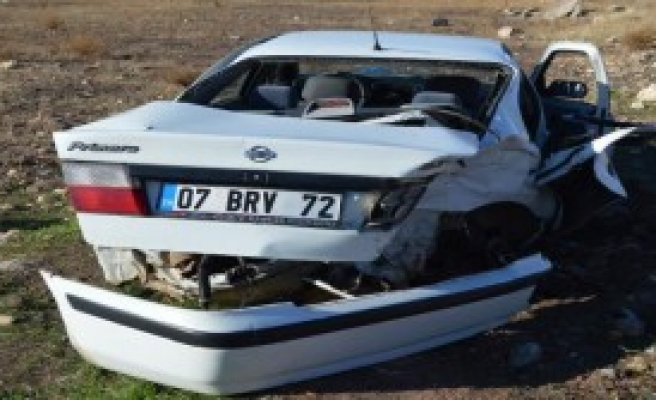 Hilvan'da İki Otomobil Çarpıştı: 4 Yaralı