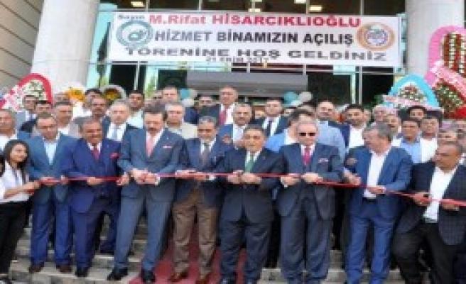 Hisarcıklıoğlu: Ortadoğu'ya Açılan Önemli Bir Kapıdır