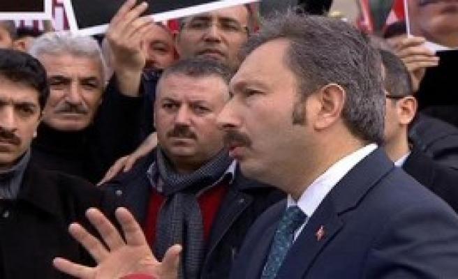 'Polis Mahkemeyi Abluka Altına Almış'