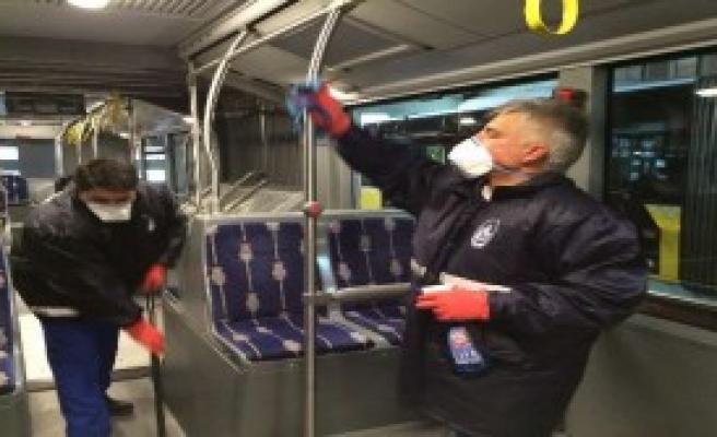 Otobüslerde Grip Önlemi