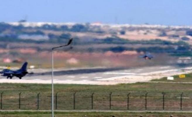 İncirlik'te Türk Savaş Uçaklarının Rutin Uçuşları Devam Ediyor