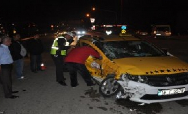 İnegöl'de Kaza: 6 Yaralı