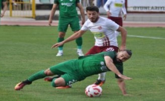 İnegölspor- Sivas Belediyespor: 1-1
