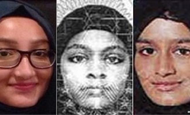 İngiliz Polisi Üç Genç Kız İçin Türkiye'de