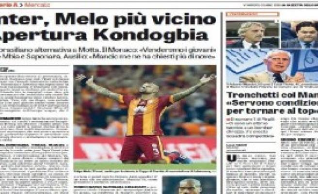 Inter, Felipe Melo'da Israrlı