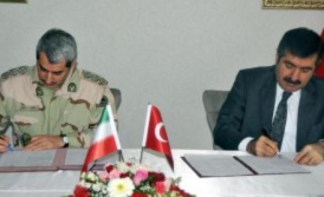 İran İle Türkiye Arasında Sınırda İşbirliği