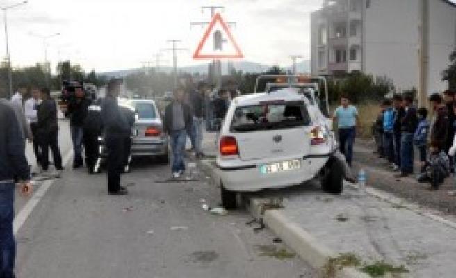 Isparta'da Kaza: 7 Yaralı