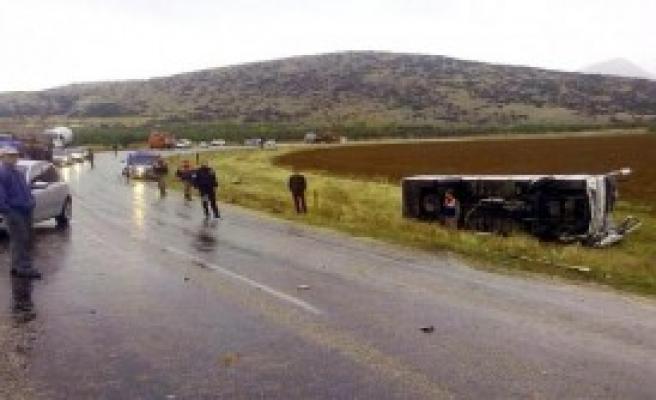 Isparta'da Trafik Kazası!