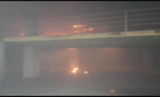 İstanbul Otogarda Yangın