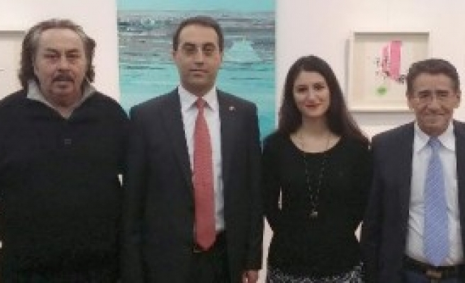 İstanbullu Ressam Nurnberg'de Sergi Açtı