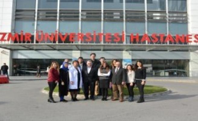 İzmir Üniversitesi Hastanesi Kalder'i Ağırladı