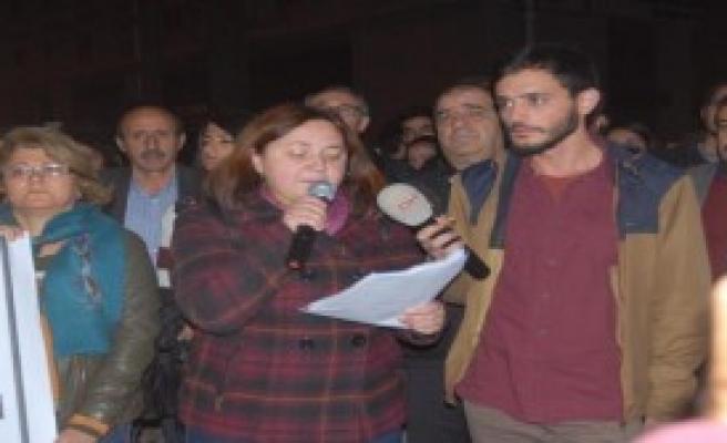 İzmir'de, Silvan Olayları Protestosusu