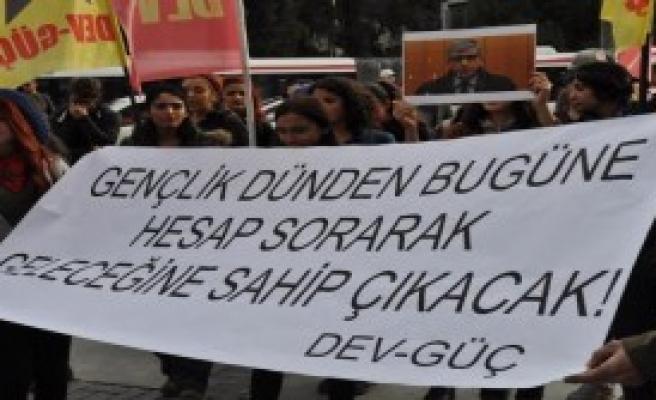 İzmir'de Tahir Elçi Eylemi