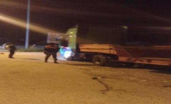 İzmir'de Tır'da 120 Kilo Esrar, 2 Gözaltı