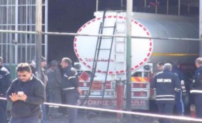 Sanayi Sitesi'nde Patlama: 1 Yaralı