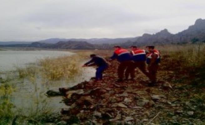 Jandarma Kızılırmak'taki Ağları Topladı
