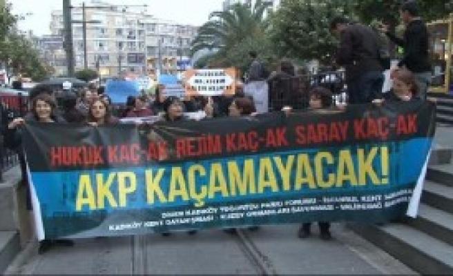 Kadıköy'de Protesto