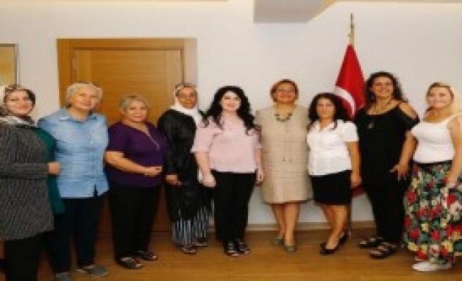 Kadın Muhtarlardan Pekdaş'a Ziyaret