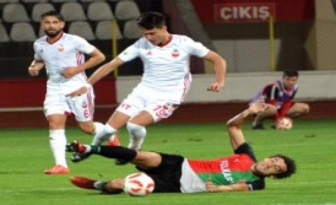 Kahramanmaraşspor - Karşıyaka: 3-3