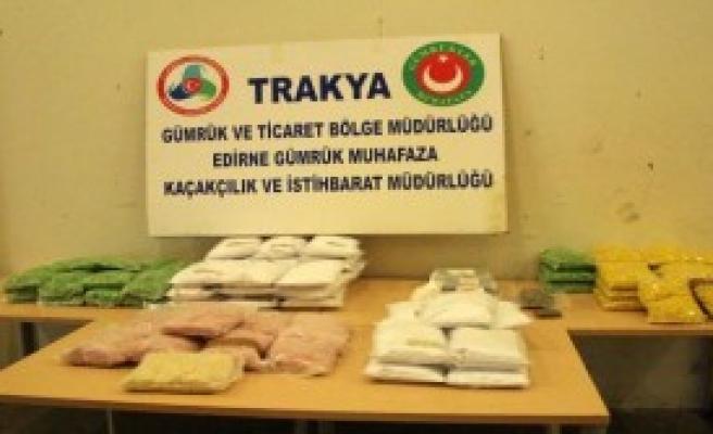 Kapıkule'de 12.3 Milyon Liralık Uyuşturucu Ele Geçirildi