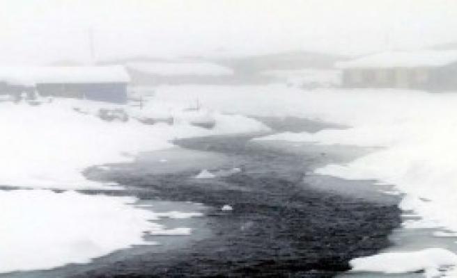 Kar Kalınlığı Yarım Metreyi Aştı