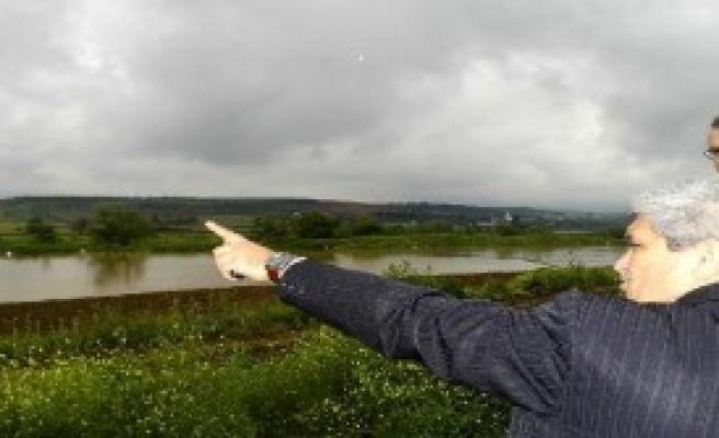 Karacabey Ovasını Su Bastı
