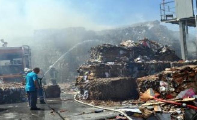 Kayseri OSB'de Korkutan Yangın