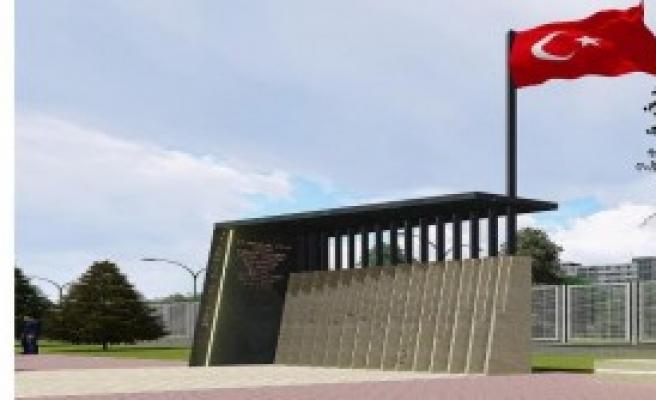 15 Şehit Mehmetçik İçin Anıt Durak