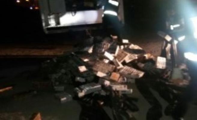 66 Bin 500 Paket Kaçak Sigara Ele Geçirildi