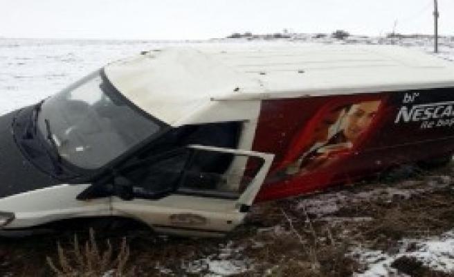 Kayseri'de Buzlanma Kazaları