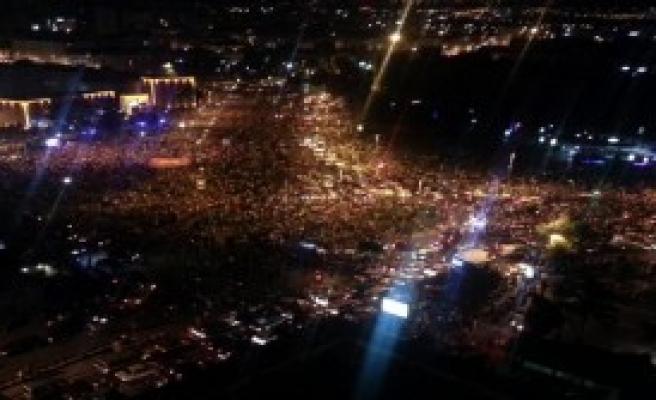 Kayseri'de Darbe Girişimine Protesto