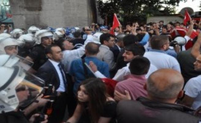 Kayseri'de  PKK Terörü Protesto Edildi
