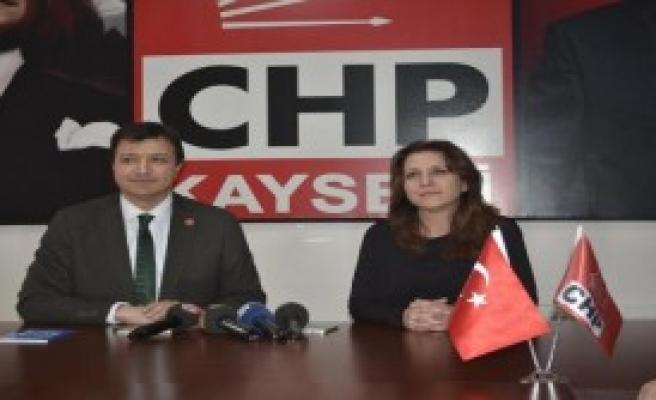 Saadet Partisi'nden Chp'ye Ziyaret