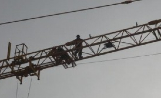 Konya'da  80 Metrelik Vince Çıktı