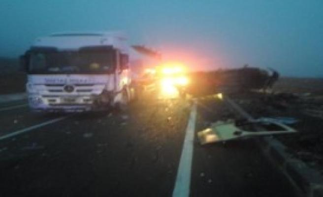 Keşan'da Kaza: 2 Ölü