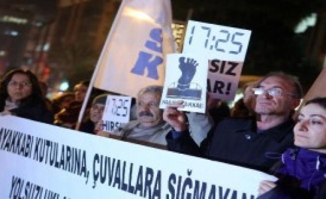KESK'ten '17 Aralık' Protestosu