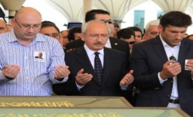 CHP Lideri Cenaze Töreninde