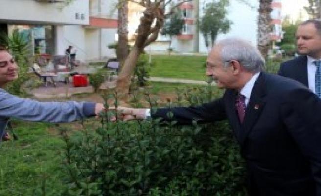 Kılıçdaroğlu'dan Taziye Ziyareti