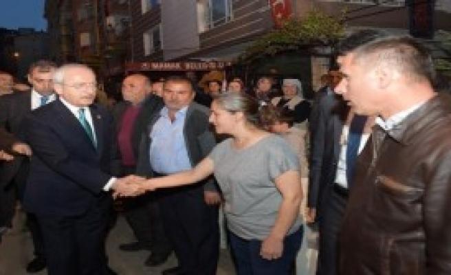 Kılıçdaroğlu'ndan Şehit Ailesine Ziyaret