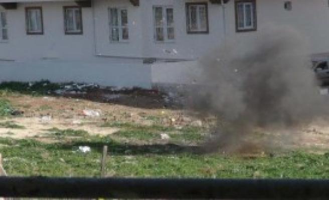 Kilis'e Düşen Roket Mermisi İmha Edildi