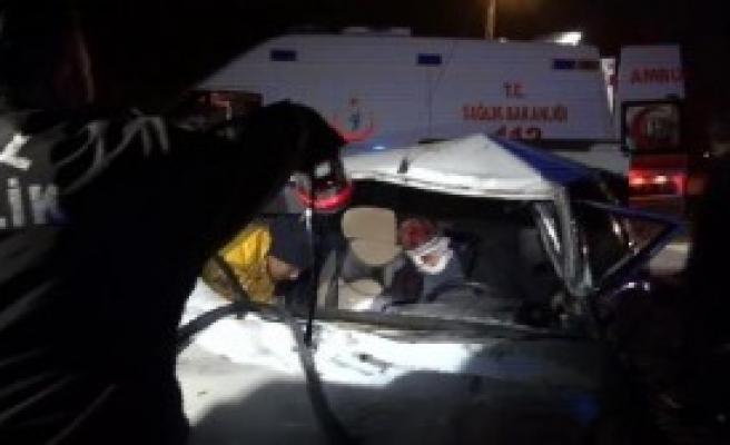 Kırıkkale'de Kaza: 1 Ölü