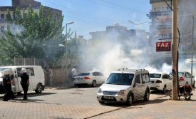 Kızıltepe'de IŞİD Protestosunda Olay