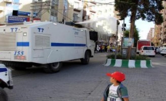 Kızıltepe'de, Protesto Gerginliği