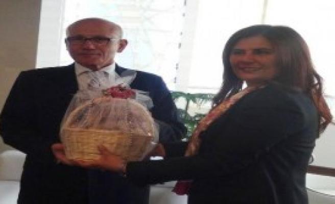 KKTC 2'nci Cumhurbaşkanı Talat, Aydın'da